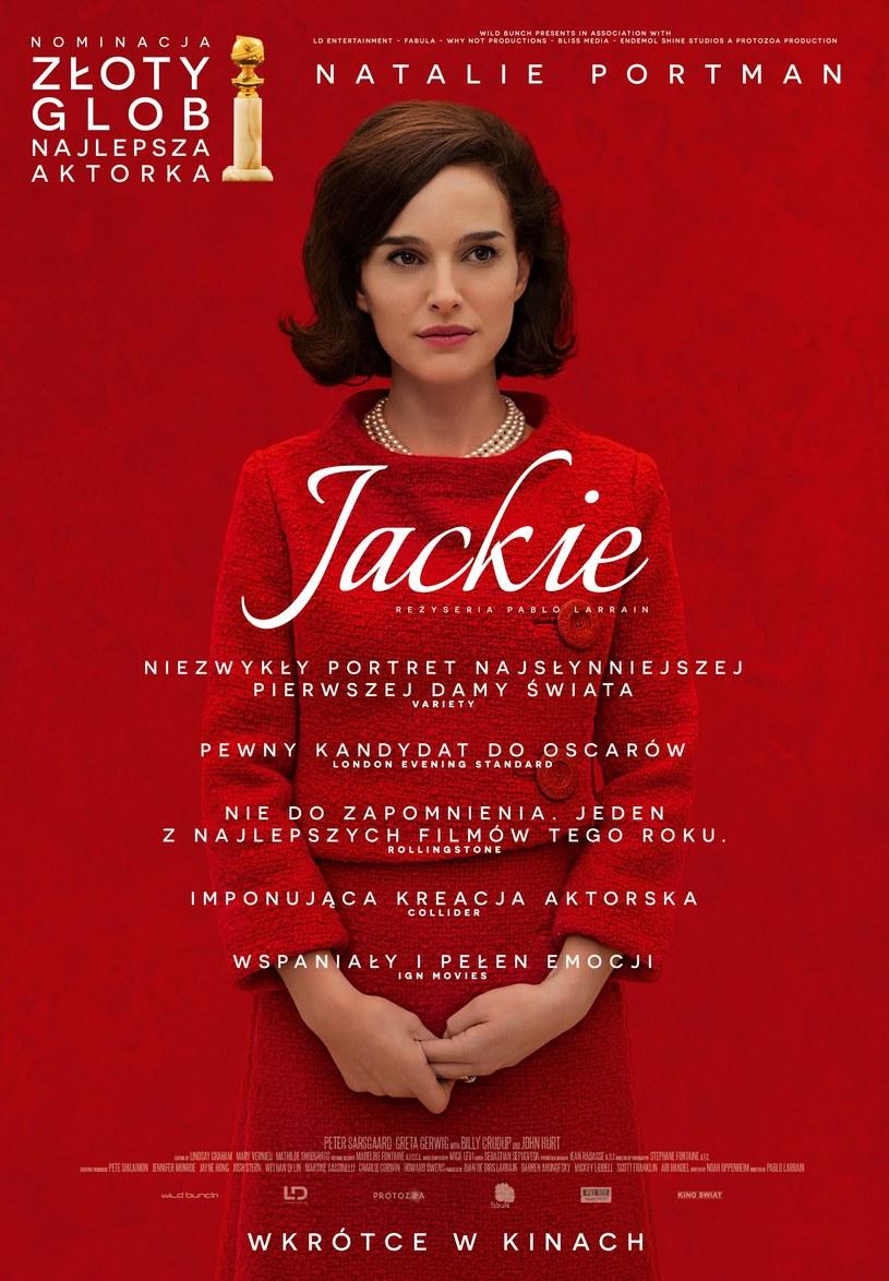 Natalie Portman jako Jackie Kennedy /materiały dystrybutora