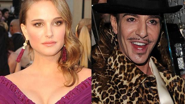 """Natalie Portman nie chce być """"w jakikolwiek sposób kojarzona z panem Galliano"""" /Getty Images/Flash Press Media"""