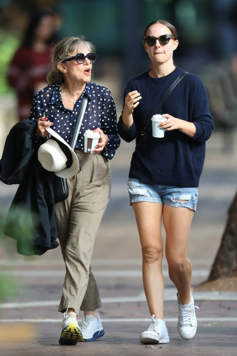 Natalie Portman z matką, Shelley Stevens /BACKGRID /East News