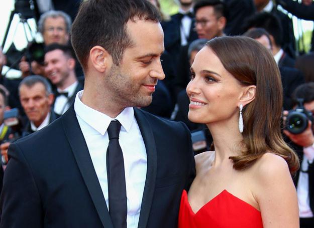 Natalie Portman z mężem, Benjaminem Millepiedem /Splash News /East News