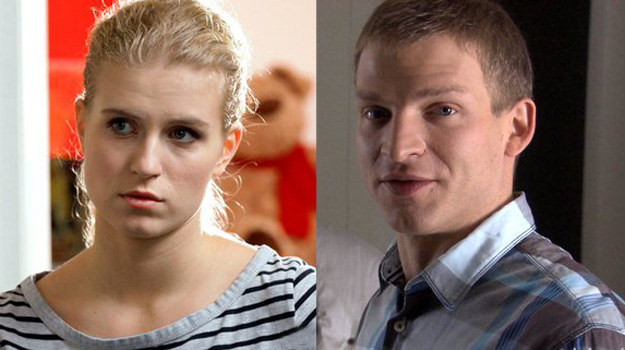 Natalka wie, że jej kochanek ma żonę, ale nie przeszkadza jej to. /www.mjakmilosc.tvp.pl/