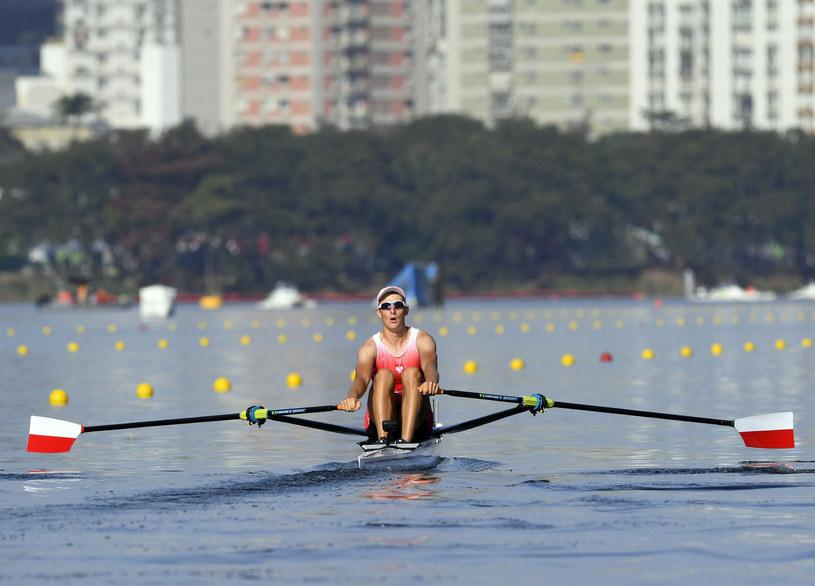 Natan Węgrzycki-Szymczyk podczas igrzysk olimpijskich w Rio de Janeiro /AFP
