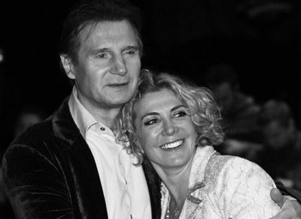 Natasha Richardson z mężem Liamem Neesonem /AFP