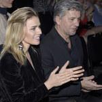 Natasza Urbańska i Janusz Józefowicz na premierze w teatrze