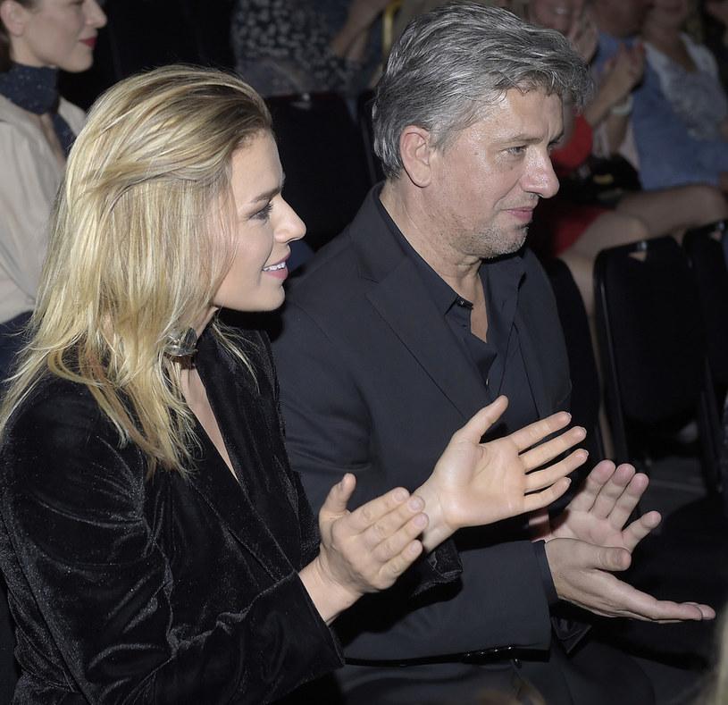 Natasza Urbańska i Janusz Józefowicz /AKPA