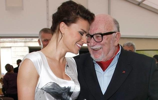Natasza Urbańska i Jerzy Hoffman, fot. Engelbrecht  /AKPA