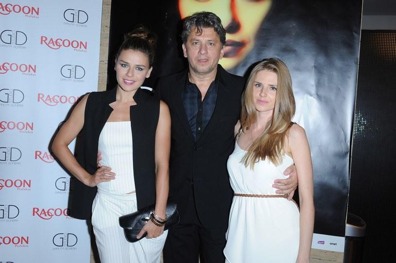 Natasza Urbańska, Janusz Józefowicz i Kamila Józefowicz /VIPHOTO /East News
