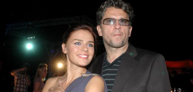 Natasza Urbańska z Januszem Józefowiczem, fot. Marek Ulatowski  /MWMedia