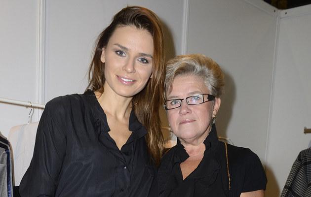 Natasza Urbańska z mamą Zofią /Jarosław Antoniak /MWMedia
