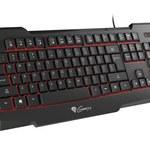 Natec Genesis RX11 – klawiatura dla graczy z podświetleniem