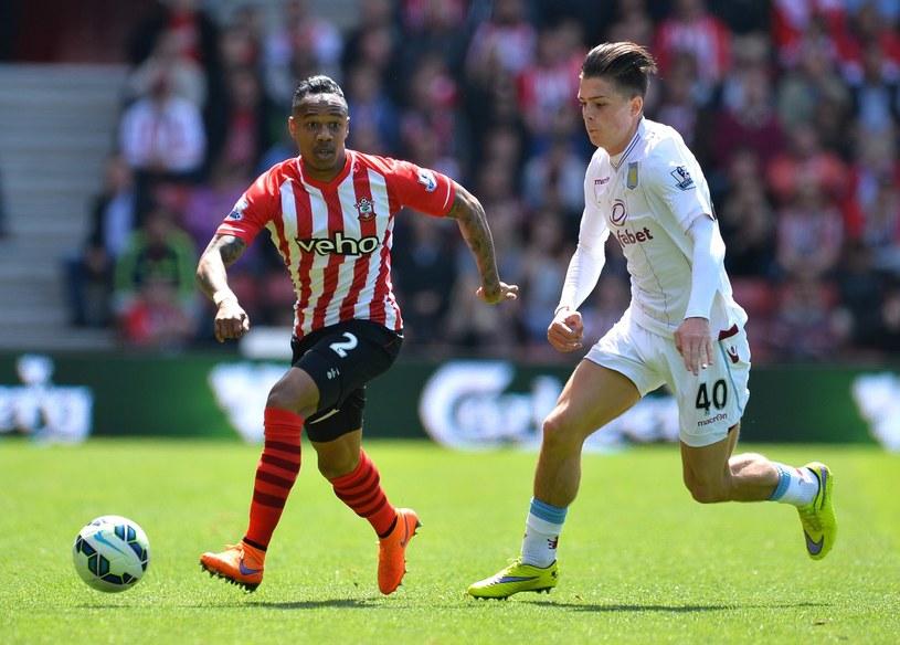 Nathaniel Clyne (z lewej) zostanie nowym piłkarzem Liverpoolu /GLYN KIRK /AFP