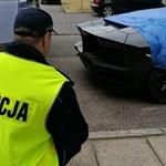 Natknęli się na drodze na porzucone Lamborghini...