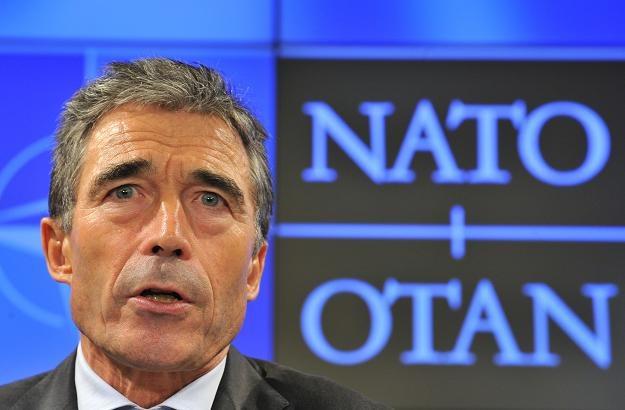 NATO przedłużyło mandat Rasmussena jako sekretarza generalnego /AFP