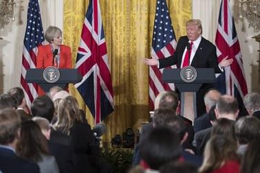 NATO, Rosja i wymiana handlowa. Donald Trump po rozmowie z Theresą May