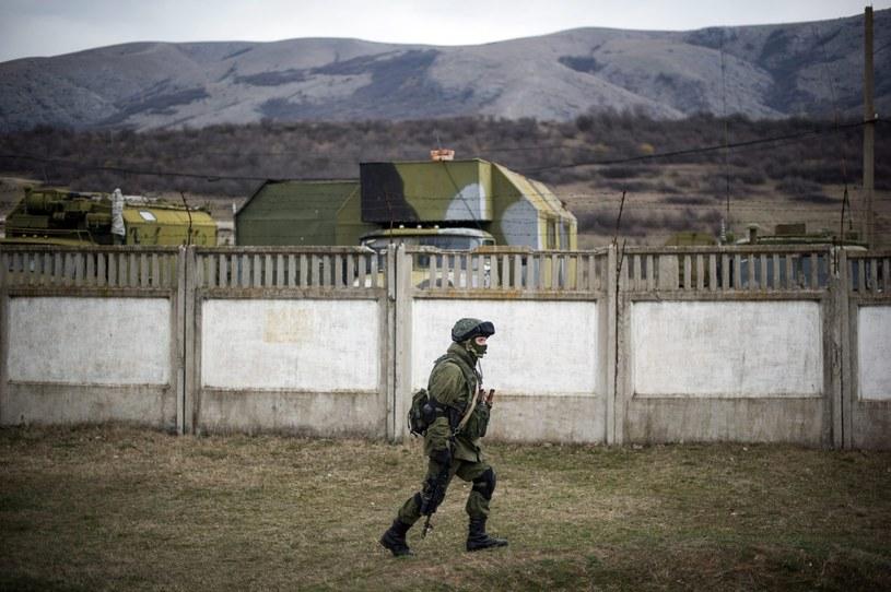 NATO wezwało Rosję do wycofania wojsk z Krymu /PAP/EPA