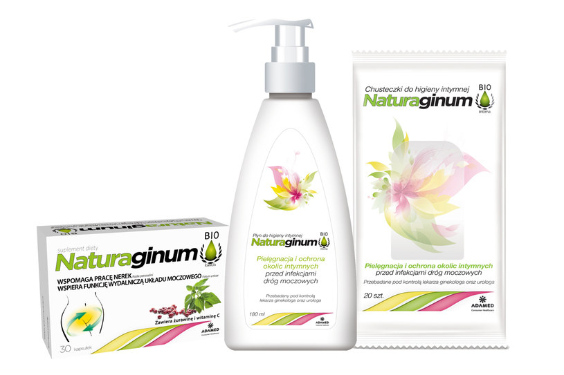 Naturaginum do higieny intymnej /Styl.pl/materiały prasowe