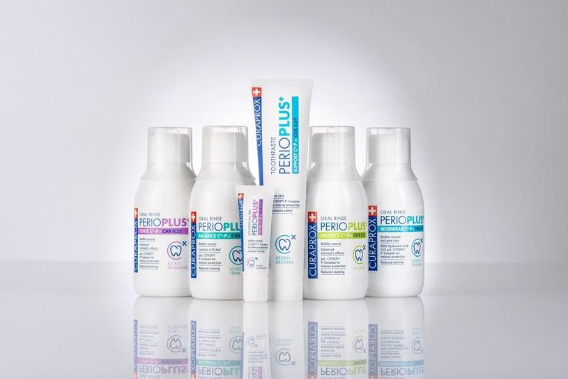 Naturalna ochrona jamy ustnej z antybakteryjną linią Perio Plus od Curaprox /INTERIA.PL/materiały prasowe
