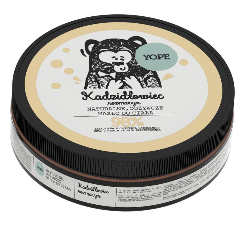 Naturalne odżywcze masła do ciała YOPE /INTERIA.PL/materiały prasowe