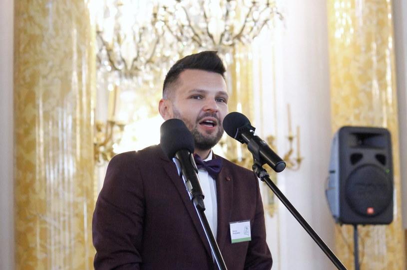 Nauczyciel Roku Dariusz Martynowicz /Mateusz Marek /PAP