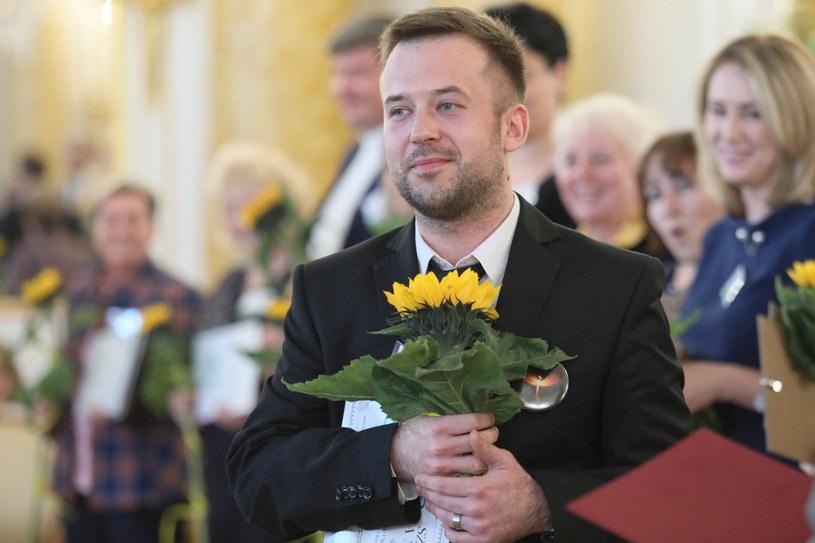 Nauczyciel Roku - Przemysław Staroń z II LO im. Bolesława Chrobrego w Sopocie / Leszek Szymański    /PAP