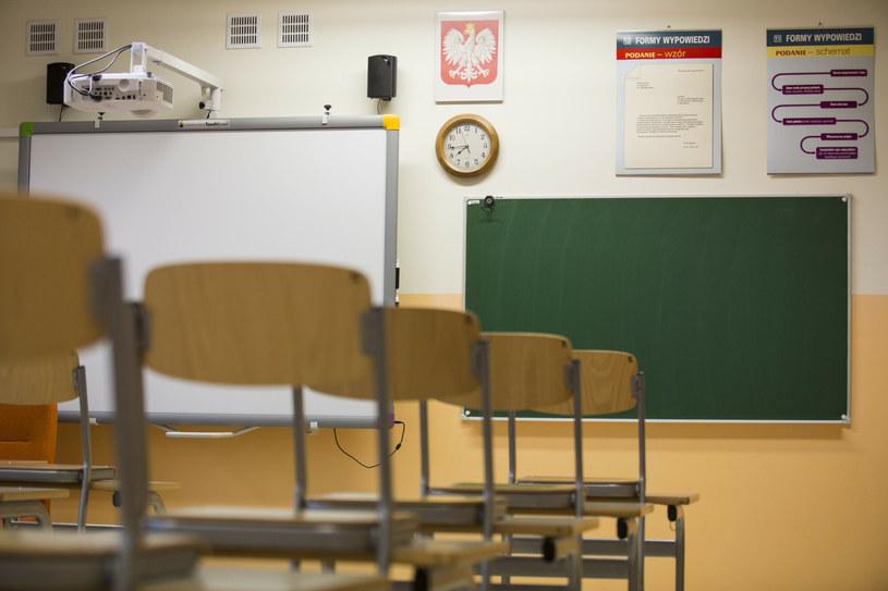 Nauczyciele komentują proponowane przez ministerstwo zmiany /Andrzej Hulimka/Reporter /Reporter