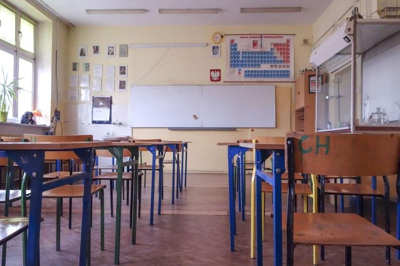 Nauczyciele zastrajkują? /Piotr Kamionka /Reporter