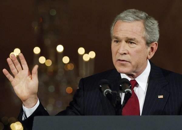 Nauczycielowi nie spodobało się orędzie Busha /AFP