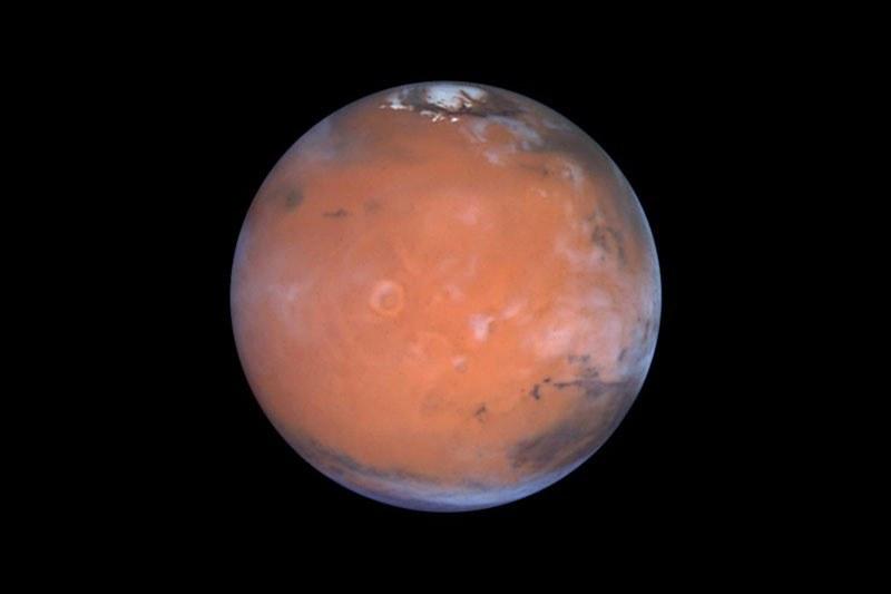 Naukowcy od dawna podejrzewają, że pod powierzchnią Marsa może być woda /Steve Lee, Univ. Colorado/Jim Bell, Cornell Univ./Mike Wolff, SSI/NASA /Materiały prasowe