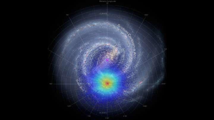 Naukowcy odkryli ślady kanibalizacji galaktyki satelitarnej przez Drogę Mleczną ok. 2-3 mld lat temu /materiały prasowe