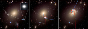 Naukowcy odkryli uciekające galaktyki