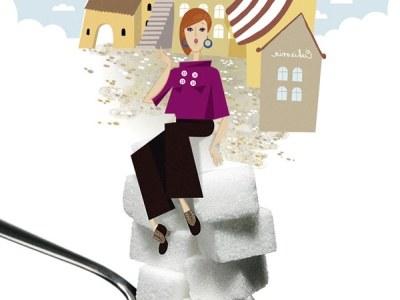 Naukowcy ostrzegają, że od 86 cm  w talii rośnie ryzyko cukrzycy.  /Katarzyna Bogucka /Twój Styl