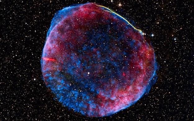 Naukowcy przewidzą kiedy gwiazda zamieni się w supernową /NASA