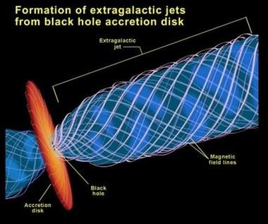 Naukowcy zmierzyli promień czarnej dziury
