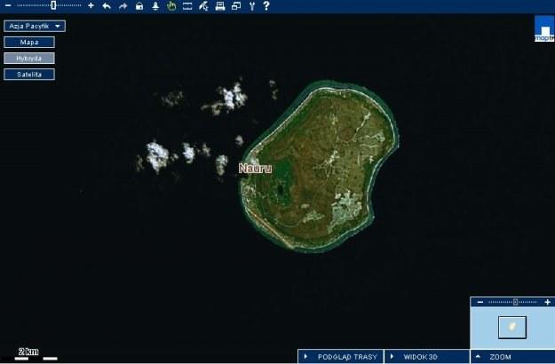 Nauru/Map24 /INTERIA.PL