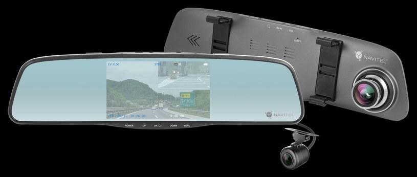 NAVITEL MR250 - lusterko samochodowe 3w1 /INTERIA.PL/informacje prasowe