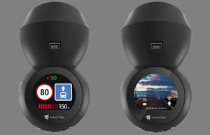 Navitel R1050 – kamera samochodowa z bazą fotoradarów i prędkościomierzem