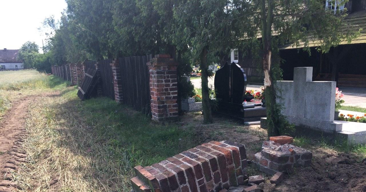 Nawałnica w Kolanowicach na Opolszczyźnie