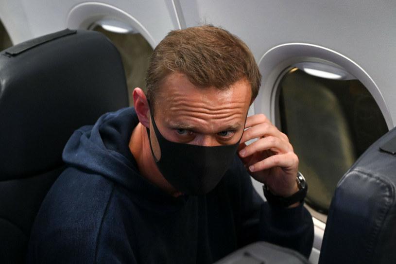 Nawalny został zatrzymany w niedzielę wieczorem po przylocie z Niemiec do Rosji /Kirill Kudryavtsev/ AFP /East News