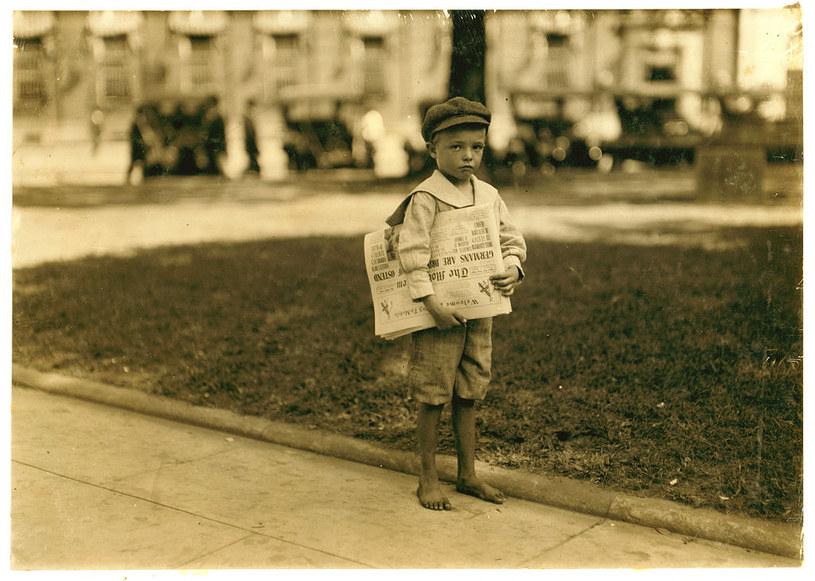Nawet najmłodsze dzieci były zmuszane do pracy /materiały prasowe