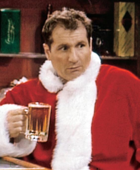 """Nawet w stroju świętego Mikołaja Al ze """"Świata wedłuch Bundych"""" nadal uważał, że Boże Narodzenie to najgorszy czas w roku /Świat Seriali"""