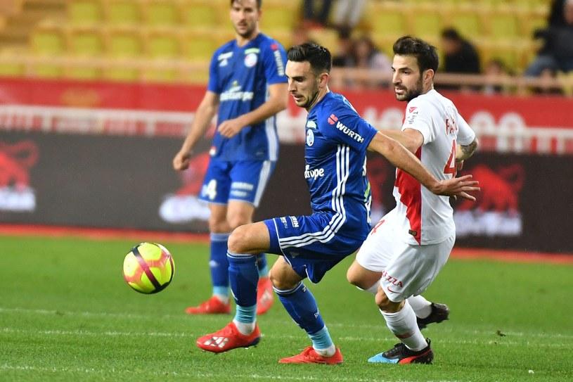 Nawet z Fabregasem Monaco wysoko przegrywa /AFP