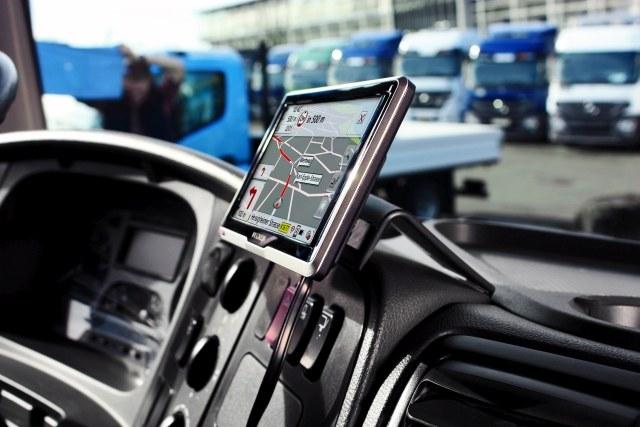 Nawigacja dla samochodów ciężarowych TomTom /materiały prasowe