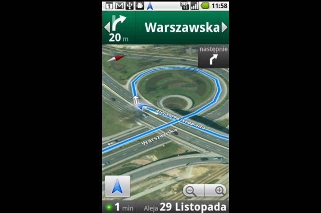 Nawigacja w Mapach Google - wreszcie w Polsce /materiały prasowe