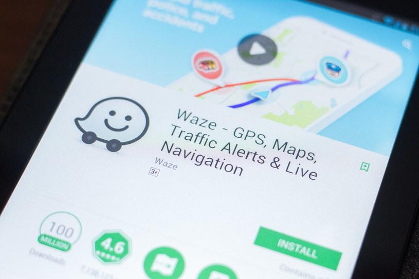 Nawigacja Waze /123RF/PICSEL
