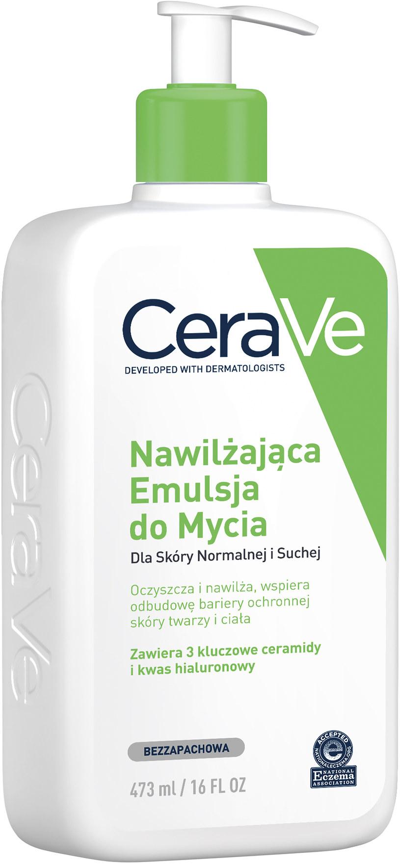 Nawilżająca emulsja do mycia do skóry suchej i normalnej CeraVe /INTERIA.PL/materiały prasowe