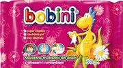Nawilżane chusteczki dla dzieci z aloesem i rumiankiem Bobini