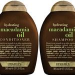 Nawilżanie włosów z olejkiem z orzechów macadamia Organix