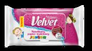 Nawilżany papier toaletowy Velvet® Junior