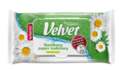 Nawilżany papier toaletowy Velvet® Rumianek i Aloes