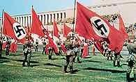 Nazizm, kongres partii nazistowskiej w 1937 w Norymberdze /Encyklopedia Internautica